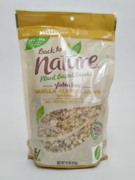 Back to Nature Granola Vanilla Almond Agave