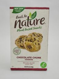 Back To Nature Galletas De Chocolate Chunk