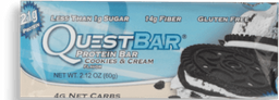 Galleta Questbar Crema 60G