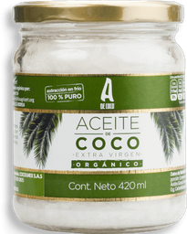 Aceite Coco A De Coco Ext Vir Org 420Ml