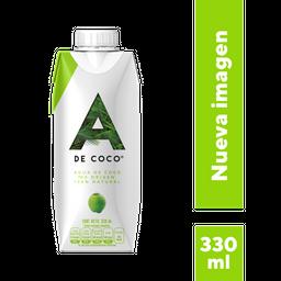 Agua De Coco 100% Natural A De Coco 330Ml