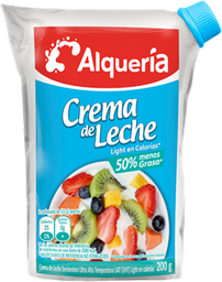 Alquería Crema de Leche Light