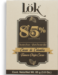 Chocolate Lok Cacao Dark 85 g
