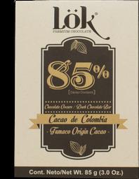 Chocolate Lok Cacao Dark 85 85G