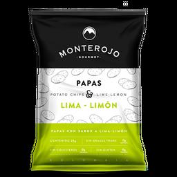 Papas Monte Rojo Lima Limon 25G