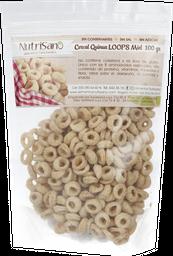 Cereal Quinua Nutrisano Miel Loops 100 g