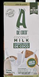 Leche De Coco A De Coco 1Lt
