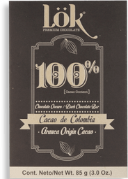 Chocolate Lok Cacao Dark 100 85G