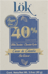 Chocolate Lok Cacao Dark 40 85G