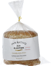 Pan Nativo Hamburguesa Fit Garden 440G