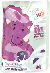 Yogurt Griego Sketos Kids Arandanos 80G