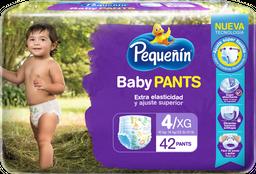 Panal Pequeñín Baby Pants Etapa 4 X 42 Und