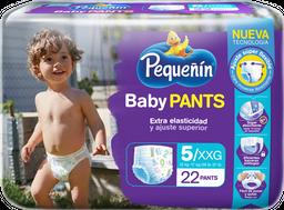 Panal Pequeñín Baby Pants Etapa 5 X 22 Und