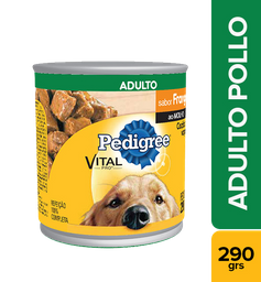 PEDIGREE ADULTO POLLO  EN SALSA LATA X 290 GR