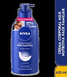Crema Corporal Nivea Milk Nutritiva 625ml
