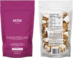 Hatsu Snacks Bites Mango Chía Yogurt x 90 gr