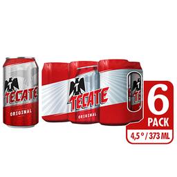 Cerveza SixPack Tecate