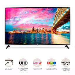 Lg-Tv Led 136 Cms (55) Uhd Smart