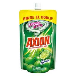 Lavaplatos Axion Liquido Limon 360ml