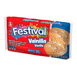 Galleta Sabor a Vainilla Festival