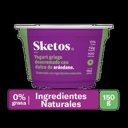 Sketos Yogurt Griego Arándano