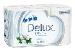 Papel Higiénico Familia Delux X 12 Rollos