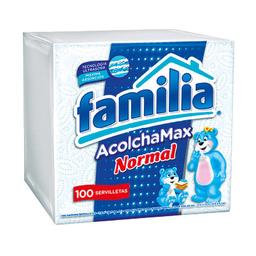 Servilletas Familia AcolchaMAX Normal X 100 und