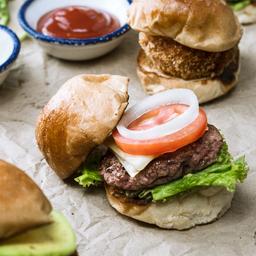 Mini hamburguesas Certified Angus