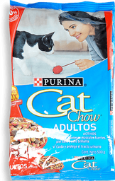 Alimento Adultos Activos Carne Fortidefense X 500 Gr Cat Chow
