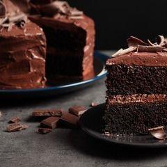 Torta de Chocolate de ½ Lb