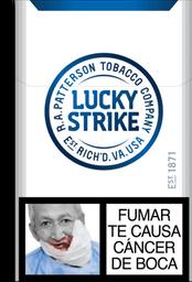 Cigarrillos Blue Lucky Strike
