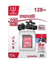 Memori Mcsd 128Gb Actpro Uhs3 Maxell 1 und