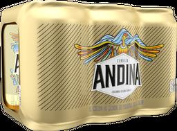 Cerveza Andina 6 Pack Lata 355 cm3