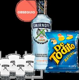 Rappicombo Smirnoff X1 750 ml. + de Todito Natural + 4 copas