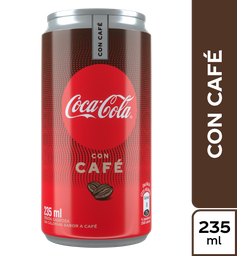 Bebida Gaseosa Con Cafe Coca-Cola 235 ml