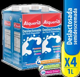 Deslactosada 1000 Ts X 4 Uds Alqueria 1 und