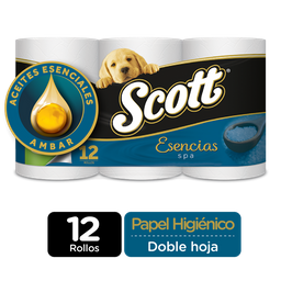 Scott Papel Higienico Ensencias Spa