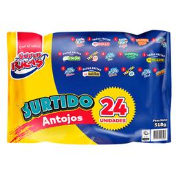 SUPER RICAS SURTIDO ANTOJO II X 24