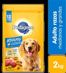 Alimento Perros Seco-Pedigree- Adulto- 2Kg
