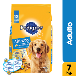 Pedigree adulto 7 Kg comida perro