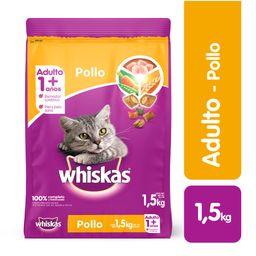 Whiskas comida gato pollo 1.5 kg