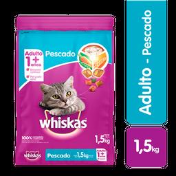 Whiskas comida gato pescado 1.5 kg