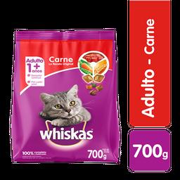 Whiskas comida gato carne 700 g