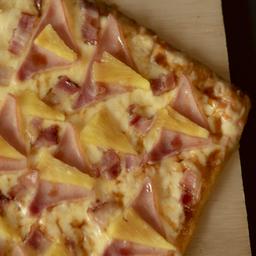 Pizza Hawaiiana Caramelo