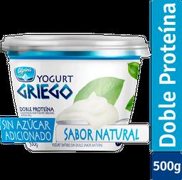 Yogurt Griego Alpina Natural Sin Grasa Vaso