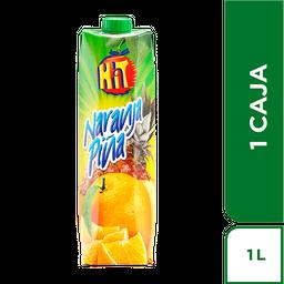 Hit Naranja Piña Tetra 1 L X12