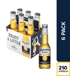 Cerveza Corona Extra - Botella X6
