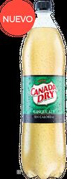 Gaseosa Canada Dry Ginger Cero pet 1,5 Litros