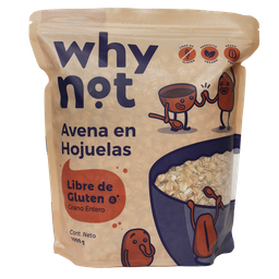 Why Not Avena en Hojuelas Libre de Gluten