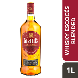 Grant's Triple Wood Blended Scotch Whisky 1000 ml